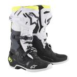 Alpinestars Crosslaarzen Tech 10 - Zwart / Wit / Geel Fluo