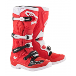 Alpinestars Crosslaarzen Tech 5 - Rood / Wit