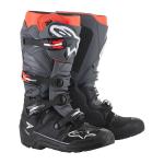 Alpinestars Crosslaarzen Tech 7 Enduro - Zwart / Grijs / Rood Fluo