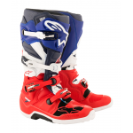 Alpinestars Crosslaarzen Tech 7 LE Union - Rood / Blauw / Wit
