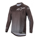 Alpinestars Kinder Cross Shirt 2019 Racer Graphite - Zwart / Antraciet