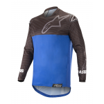Alpinstars Cross Shirt 2019 Venture R - Zwart / Blauw