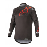 Alpinstars Cross Shirt 2019 Venture R - Zwart / Rood