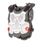 Alpinestars Bodyprotector A-1 Plus - Wit / Antraciet / Rood