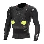 Alpinestars Bodyprotector Bionic Pro V2 - Zwart / Geel / Fluo Geel