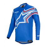 Alpinestars Cross Shirt 2020 Racer Braap - Blauw / Wit