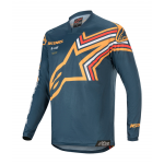 Alpinestars Cross Shirt 2020 Racer Braap - Navy / Oranje