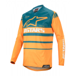 Alpinestars Cross Shirt 2020 Racer Supermatic - Oranje / Petrol