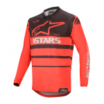 Alpinestars Cross Shirt 2020 Racer Supermatic - Rood / Zwart