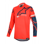 Alpinestars Cross Shirt 2020 Racer Tech Compass - Rood / Navy