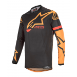 Alpinestars Cross Shirt 2020 Racer Tech Compass - Zwart / Oranje