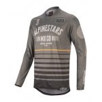 Alpinestars Cross Shirt 2020 Racer Tech Flagship - Grijs / Zwart
