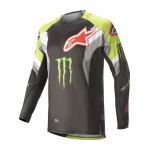 Alpinestars Cross Shirt 2020 Techstar Eli Tomac - Groen / Rood