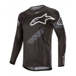Alpinestars Cross Shirt 2020 Techstar Graphite - Zwart / Antraciet