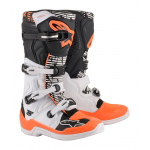 Alpinestars Crosslaarzen Tech 5 - Wit / Zwart / Fluo Oranje