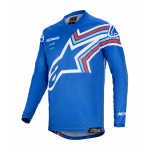 Alpinestars Kinder Cross Shirt 2020 Racer Braap - Blauw / Wit