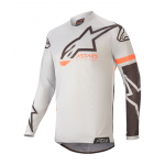 Alpinestars Kinder Cross Shirt 2020 Racer Compass - Grijs / Zwart