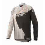 Alpinestars Kinder Cross Shirt 2020 Racer Factory - Grijs / Zwart