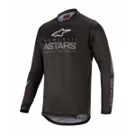 Alpinestars Kinder Cross Shirt 2020 Racer Graphite - Zwart / Grijs