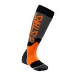 Alpinestars Kinder Cross Sokken MX PLUS-2 - Grijs / Fluo Oranje