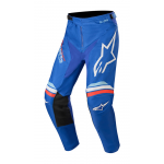 Alpinestars Kinder Crossbroek 2020 Racer Braap - Blauw / Wit