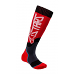Alpinestars Kinder Cross Sokken MX PLUS-2 - Rood / Wit
