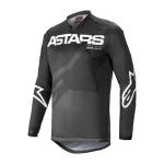 Alpinestars Cross Shirt 2021 Racer Braap - Zwart / Antraciet / Wit