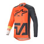 Alpinestars Cross Shirt 2021 Racer Compass - Oranje / Antraciet / Wit
