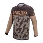 Alpinestars Cross Shirt 2022 Venture R - Mud Camo / Sand