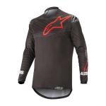 Alpinestars Cross Shirt 2022 Venture R - Zwart / Rood