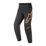 Alpinestars Crossbroek 2021 Techstar Venom - Zwart / Rood / Oranje