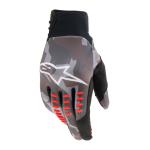 Alpinestars Crosshandschoenen 2021 SMX-E - Grijs Camo / Fluo Rood