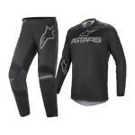 Alpinestars Crosskleding 2021 Fluid Graphite - Zwart / Grijs