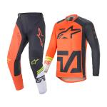 Alpinestars Crosskleding 2021 Racer Compass - Oranje / Antraciet / Wit