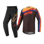 Alpinestars Crosskleding 2021 Techstar Venom - Zwart / Rood / Oranje