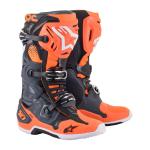 Alpinestars Crosslaarzen Tech 10 - Grijs/ Fluo Oranje