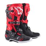 Alpinestars Crosslaarzen Tech 10 - Zwart / Wit / Rood