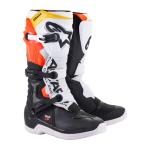 Alpinestars Crosslaarzen Tech 3 - Zwart / Wit / Fluo Rood / Geel