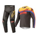 Alpinestars Kinder Crosskleding 2021 Racer Venom - Zwart / Rood / Oranje