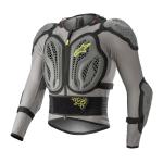 Alpinestars Bodyprotector Bionic Action - Grijs / Fluo Geel