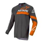 Alpinestars Cross Shirt 2022 Fluid Chaser - Antraciet / Fluo Coral