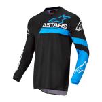 Alpinestars Cross Shirt 2022 Fluid Chaser - Zwart / Blauw