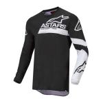 Alpinestars Cross Shirt 2022 Fluid Chaser - Zwart / Wit