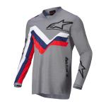 Alpinestars Cross Shirt 2022 Racer Braap - Mid Grijs