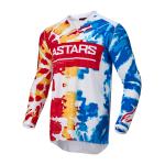 Alpinestars Cross Shirt 2022 Racer Squad - Wit / Rood / Geel
