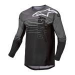 Alpinestars Cross Shirt 2022 Techstar Graphite - Grijs / Zwart