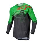 Alpinestars Cross Shirt 2022 Techstar Phantom - Antraciet / Groen