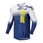 Alpinestars Cross Shirt 2022 Techstar Phantom - Blauw / Wit
