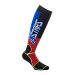 Alpinestars Cross Sokken MX PRO - Rood / Fluo Geel / Blauw