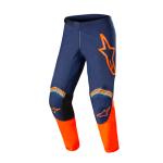 Alpinestars Crossbroek 2022 Fluid Speed - Blauw / Oranje